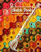 Sketch Book: 8.5 x 11 Notebook for Sketching and Drawing. 100 Blank Pages Sketchbook