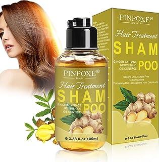 Profesional Champú Repair Champú Jengibre Champú Hair Shampoo para restaurar el cabello Cabellos dañados y secos Red...