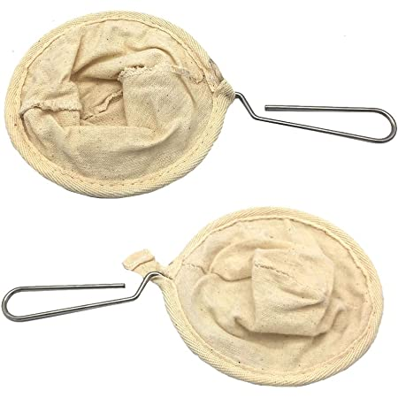 Household Coffee Filter Bag Colander Flannel Housewife Home Cafe Basket Tools LI