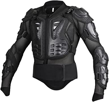 Dexinx Moto Ciclismo Montar Cuerpo Completo Armadura del Protector de la Calle Guardia Profesional de Motocross Chaqueta de la Camisa con la Parte ...