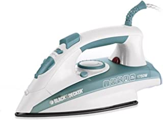 Black and Decker X1600/B5 1750W Vertical Steam Iron with Self Clean - Green/White