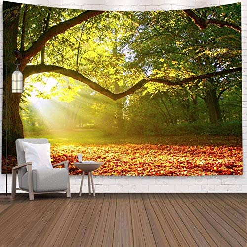 Nature Scenery Ins Style Forest 3D Print Wall Tapestry Bedroom Aesthetic Custom Wall Hanging Large Black Cute Tapestry Luxury