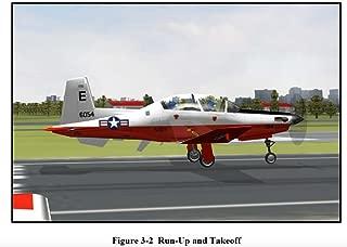 U.S. Navy Beechcraft T-6 T-6B Texan II Naval Flight Officer FLIGHT TRAINING INSTRUCTION PRIMARY INSTRUMENT NAVIGATION & PRIMARY FORMATION T-6B