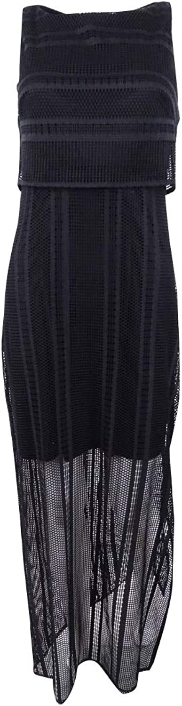 American Living Womens Sleeveless Lace Maxi Dress