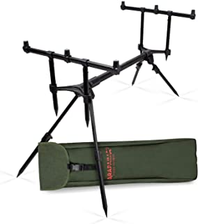 03648a07e4 Arapaima Fishing Equipment® Support de Canne à Pêche 'Lakeview' | Rod Pod  pour