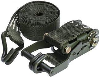 AJZGF ratchet straps (1 package) RatStrap 5000 Gongjin ratchet lashing claw hook cargo truck truck strap webbing restraint...