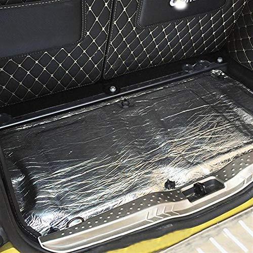 HTSM Für Smart 451 453 Fortwo Forfour Universal Auto Heckkoffer Motor Schallschutzmatte Fibrewall Wärmeschaummatte Autozubehör Dekorationen (Größe : for 451)