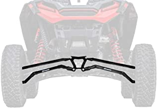 SuperATV Boxed High Clearance Rear Radius Arms/Rods for Polaris RZR XP Turbo S / S4 (2018+) - Black