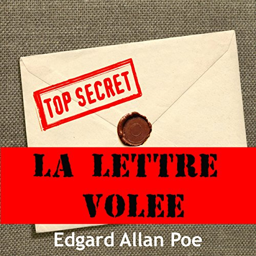 La lettre volée audiobook cover art