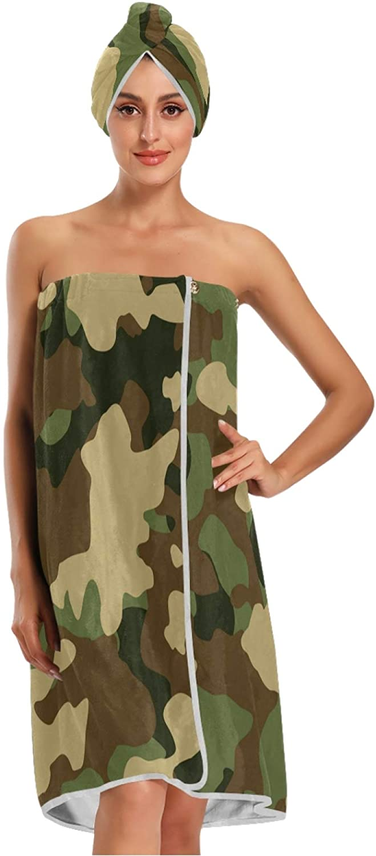 Qilmy Bath Towel Wrap Set Hair Quick for Women Tucson Mall Wearable Dry Tulsa Mall Bat
