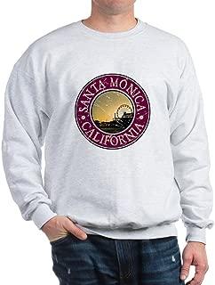 CafePress Santa Monica, California Sweatshirt