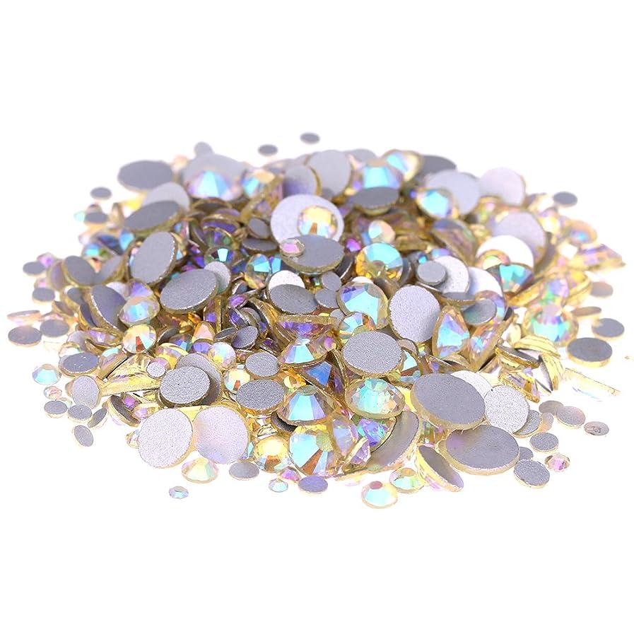 居間贅沢あえてNizi ジュエリー ブランド ジョンキルオーロラ ラインストーン は ガラスの材質 ネイル使用 型番ss3-ss30 (混合サイズ 1000pcs)