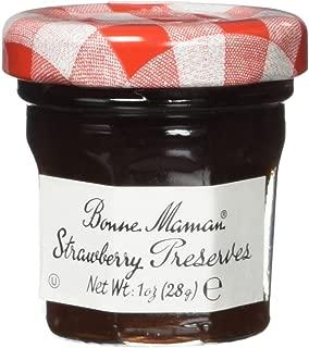 Bonne Maman Strawberry Preserve Mini Jars - 15 pcs x 1 oz - Kosher Jelly Jam