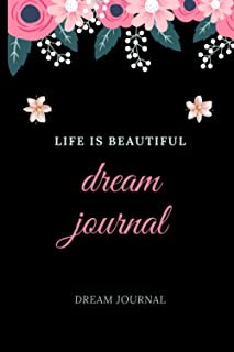 dream journal: To plan your dreams.blank nowtbook .120 pages .size 6×9 inches