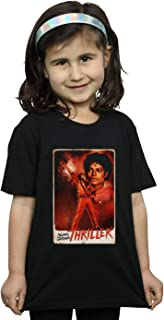 Michael Jackson Girls Thriller Stance T-Shirt