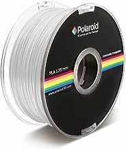 Polaroid White Biodegradable Filament, 1.75mm 1KG Spool (2.2 lbs)