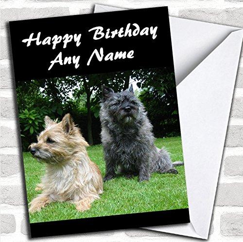 Cairn Terrier Hond Verjaardagskaart Met Envelop, Kan Volledig Gepersonaliseerd, Verzonden Snel & Gratis