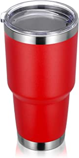 Sponsored Ad - PEIZI 30oz Tumbler with lid, Stainless Steel Double Wall Vacuum Insulated Travel Mug, Durable Powder Coated...