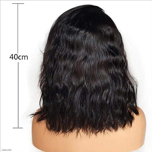 Europ che Und Amerikanische Wig Weißiche Steigung Kurz Lockly Haar Rosa Net Wig Set