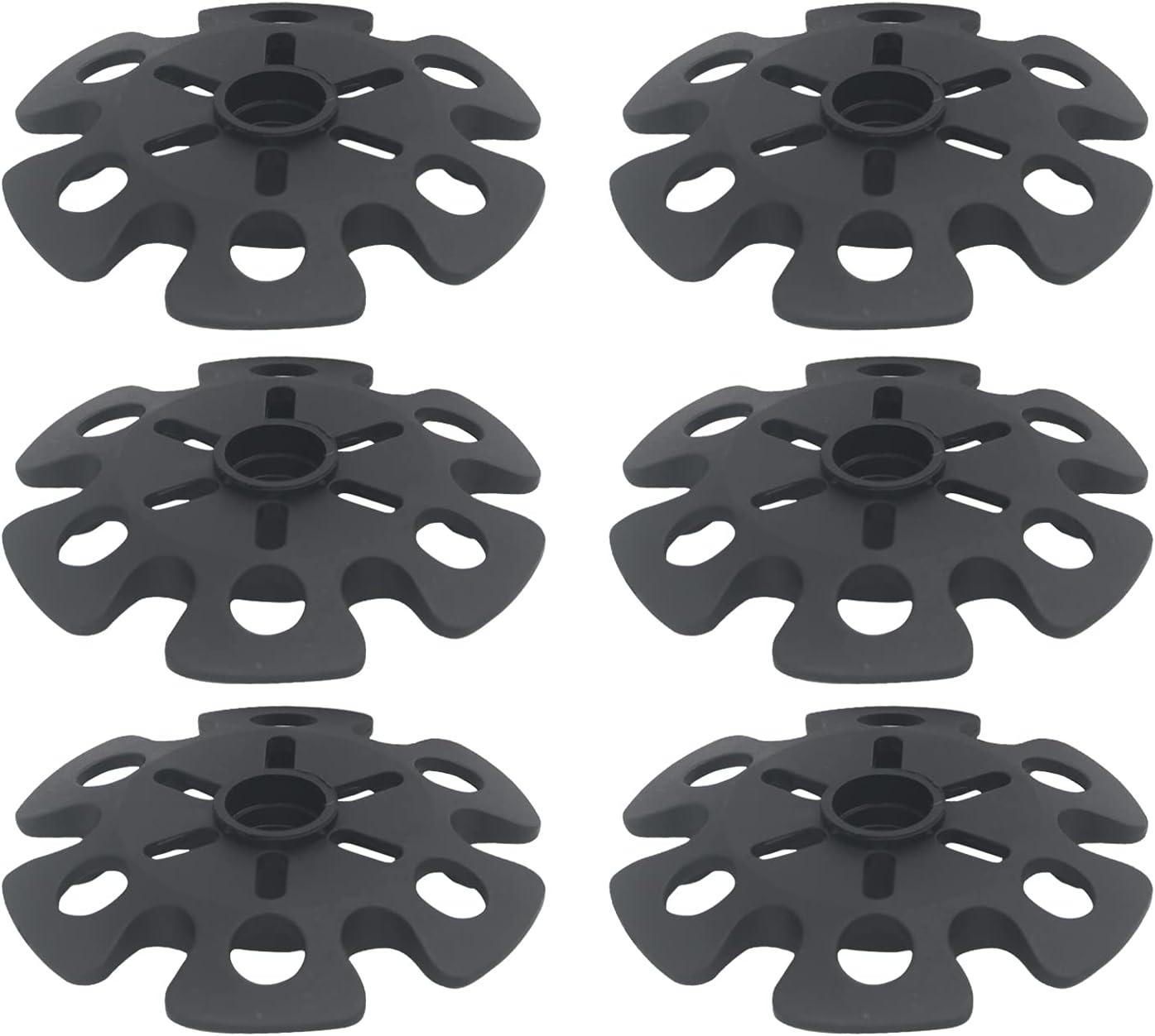 MINCLIM 6 Pieces 3 Pairs Trekking Snow Baskets Popular brand Pole Repla Mud Genuine