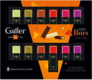 Galler ガレー チョコレート ベルギー王室御用達 ミニバーギフトボックス 12本入 2020年限定パッケージ (2箱セット)