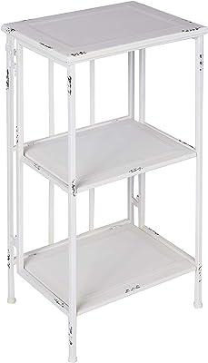 Better Best & 1401862 Table Pliable de 3 hauteurs Fer Blanc