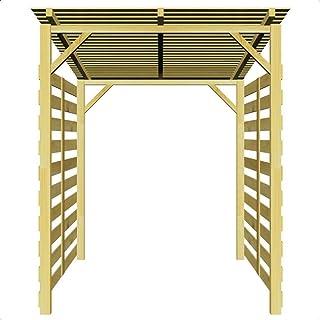 Amazon.es: 200 - 500 EUR - Leñeras / Accesorios para chimeneas de exterior: Jardín