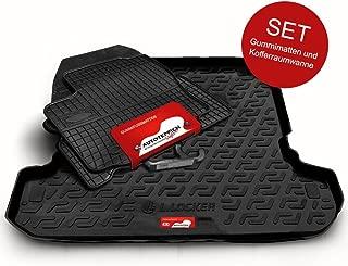 Gummimatten Gummi Fußmatten für Audi A4 B6 2000-2004 Komplettset Motohobby