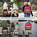AA Hunting Tower in Beautiful Misty Scenery,Leather Purse Bag Fashion s for Women 13IN