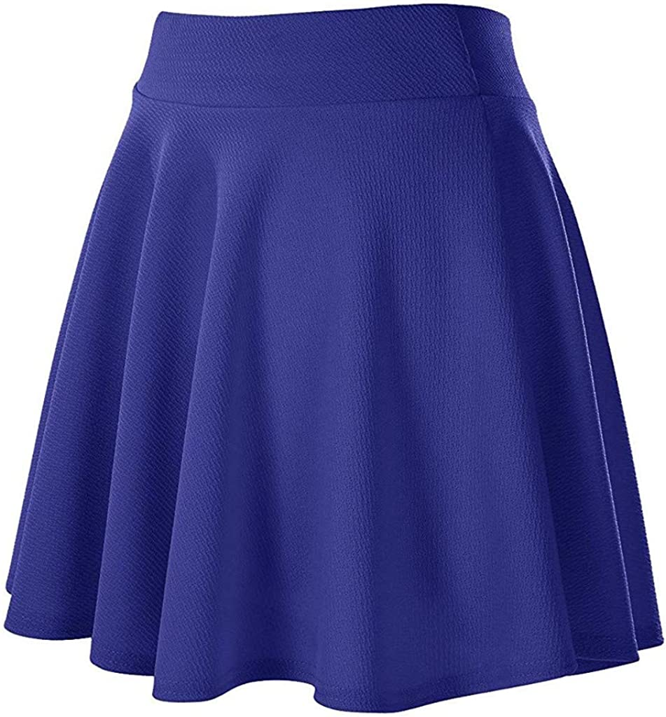 TOTOD Skirts Clearance - Women's Flared Max Max 47% OFF 63% OFF Versatile Stretchy Basic