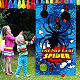 Spider Toss Games with 3 Bean Bag, Fun...