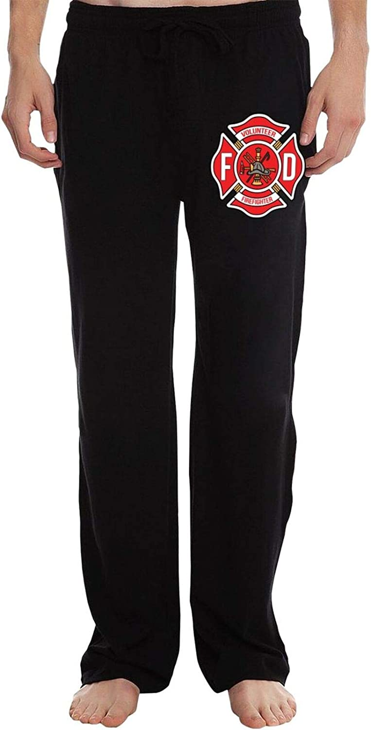 DFSDOV Volunteer Firefighter Elastic Loose Men's Directly Large special price !! managed store Waist Trousers