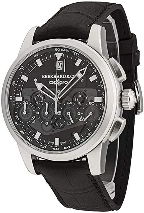 Orologio eberhard & co men`s chrono 4 130 limited edition 42mm automatic watch 31130.02 31130.02 CP