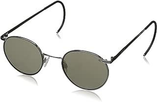Randolph P3 Sunglasses Gold 23K//Cable//Glass Gray Polarized AR 49mm