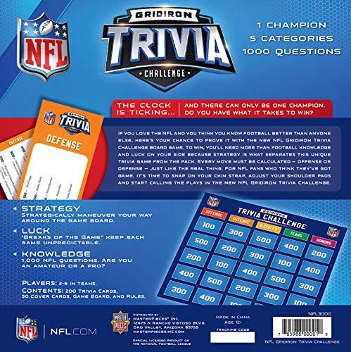 MasterPieces NFL League Trivia Challenge