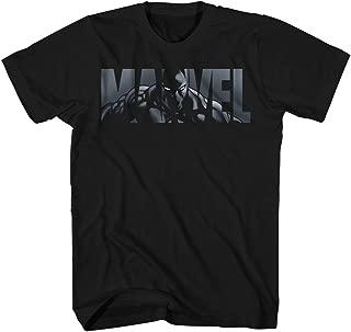 Logo Black Panther Avengers Super Hero Adult Graphic Men's T-Shirt