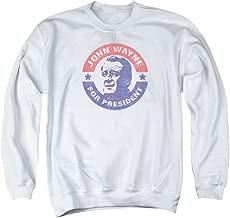 John Wayne for President Unisex Adult Crewneck Sweatshirt for Men and Women