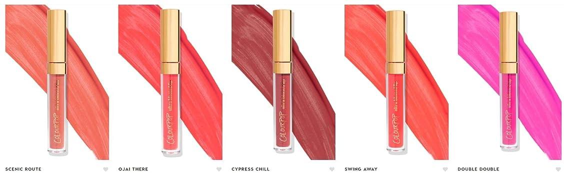 珍しい威する罪人カラーポップ (ColourPop)liquid lipsticks リキッドリップ (CONTROLLA)