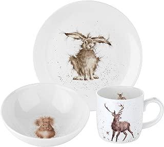 Royal Worcester Wrendale Designs 3 Piece Set