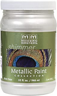 Modern Masters ME196-32 Metallic Pearl White, 32-Ounce