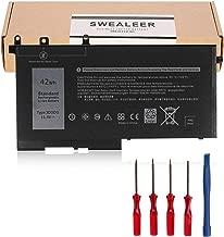 SWEALEER 3DDDG Laptop Battery Compatible with Dell Latitude 5280 5288 5480 5490 5580 5590 5491 5591 5488 5495 E5280 E5288 E5480 E5490 E5580 E5590 Precision 3520 3530 Series 080JT9 03VC9Y [42Wh 3DDDG]