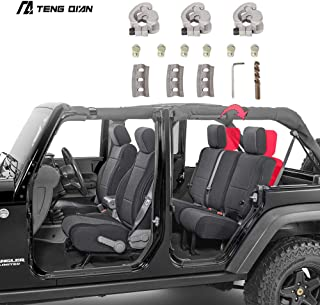 TQ Rear Seat Recline Kit with Bolts and Washers for 2018-2019 Jeep Wrangler Four Doors JL Sahara(Not Fit 2018 Rubicon) (for JL)
