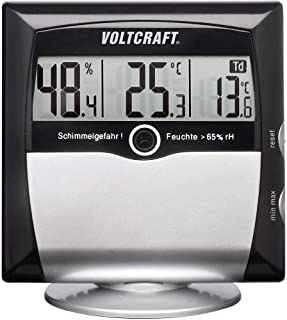 VOLTCRAFT MS-10 Hygrometer 1 % rF 99 % rF Daggpunkt-/mögel-varningsdisplay