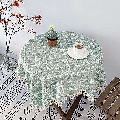 Mantel al Aire Libre Manteles Mantel de algodón para té Varias mesas de Tela SUI Mantel de Tela para el hogar tejido-40 * 60cm