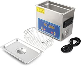 Homgrace Commercial Ultrasonic Cleaner with with Heater and Digital Control for Jewelry Watch Glasses Cleaner (3.2 L)