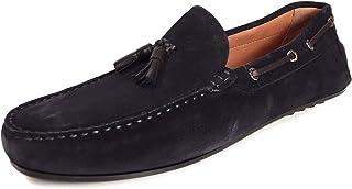 e391d2eb MASSIMO DUTTI - Zapatos de Cordones de Cuero para Hombre Azul Azul, Color  Azul,