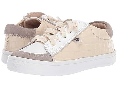 Old Soles Department Shoe (Toddler/Little Kid) (Beige Weave/Snow/Grey Suede) Boy