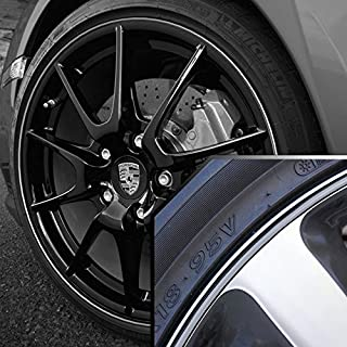 Upgrade Your Auto Wheel Bands Silver in Black Pinstripe Edge Trim for Toyota Tacoma 13-22