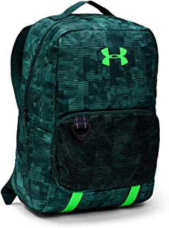 Under Armour Ultimate School Backpack for Boys - Polyester, Dust/Batik/Zap Green 1308765-416