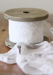Afloral Lace Bouquet Wrap in White - 1.6